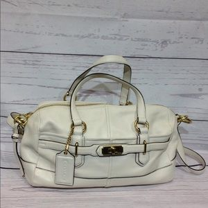 Coach Chelsea Reese Leather Convertible Bag #17803